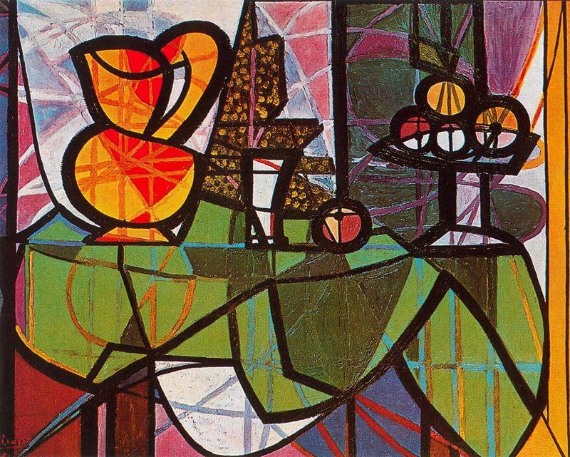 Пабло Пикассо. Натюрморт с графином