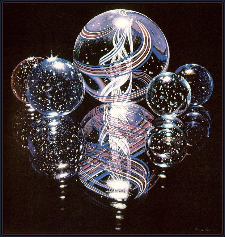 Charles Bell. Clear bulbs