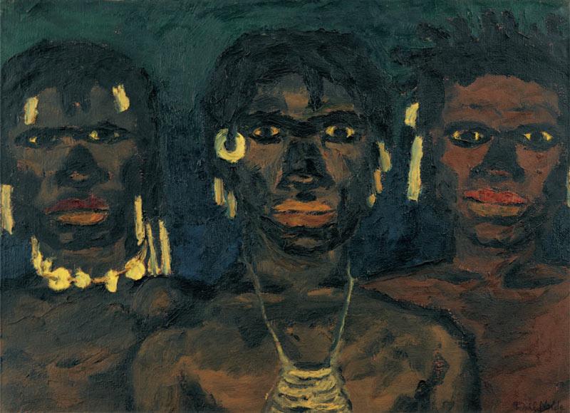 Эмиль Нольде. Жители Новой Гвинеи
