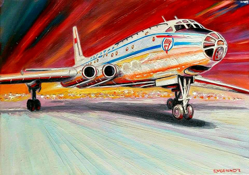 """Aviation Art. """"Next"""""""