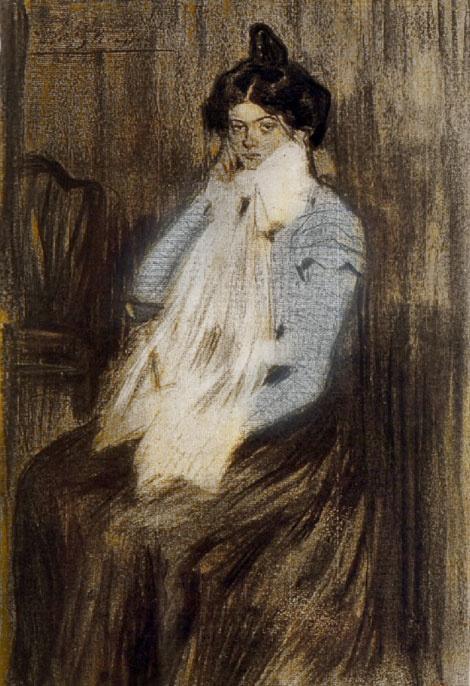 Пабло Пикассо. Лола, сестра художника