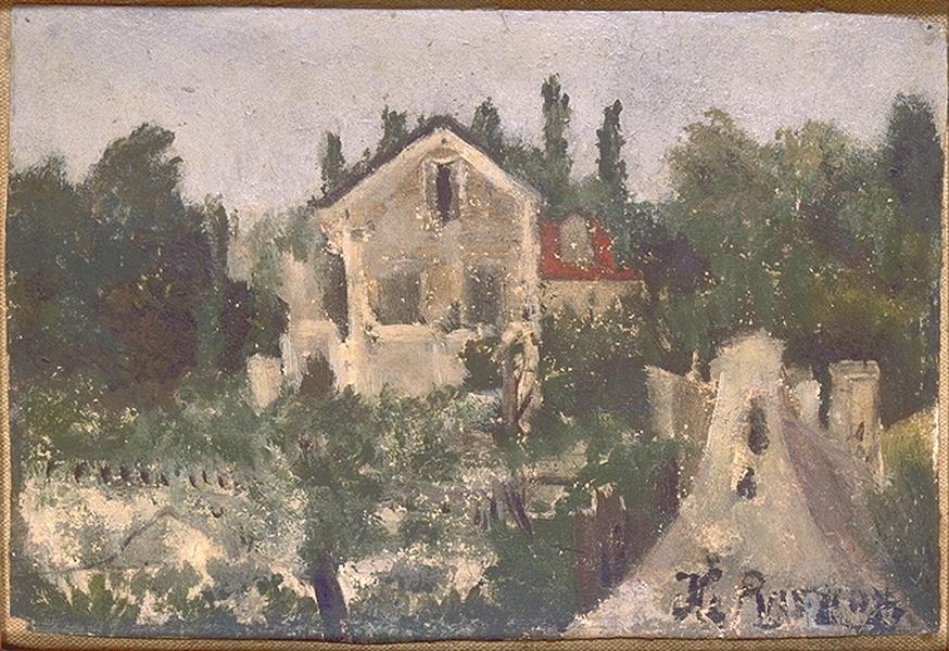 Анри Руссо. Загородный дом в Сент-Клауде