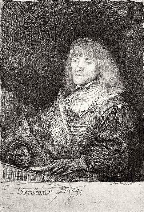 Рембрандт Ван Рейн. Портрет мужчины в золотой цепи с крестом