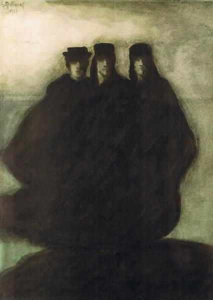 Леон Спиллиарт. Три фигуры