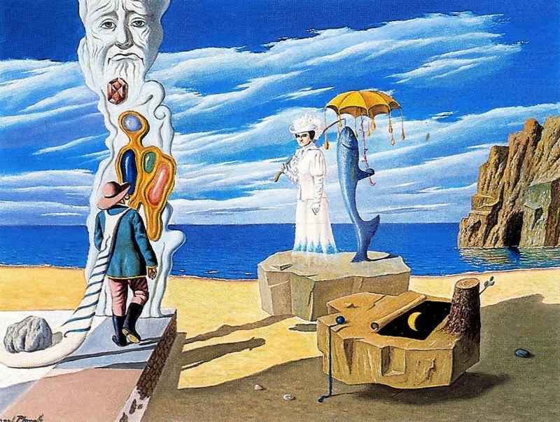 Анхель Планеллс. Желтый зонт