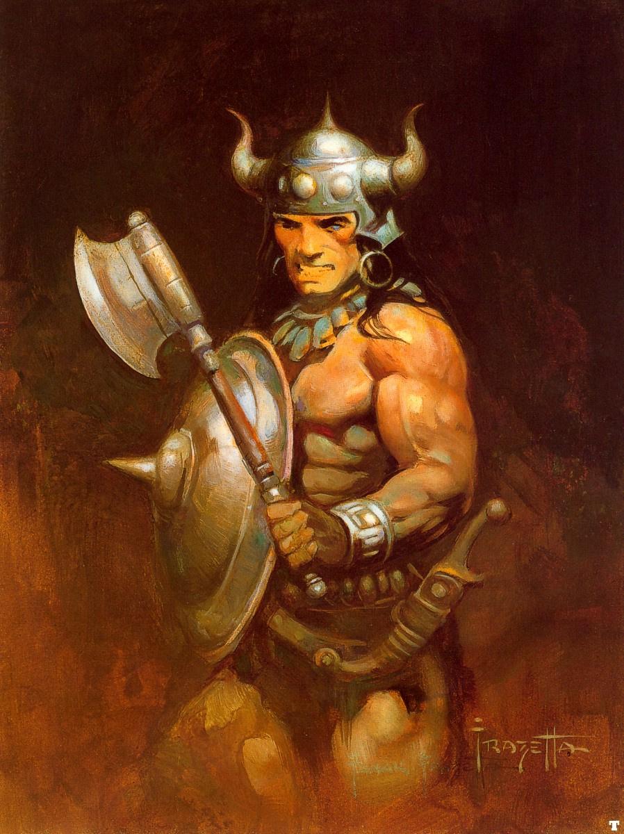 Frank Frazetta. Warrior
