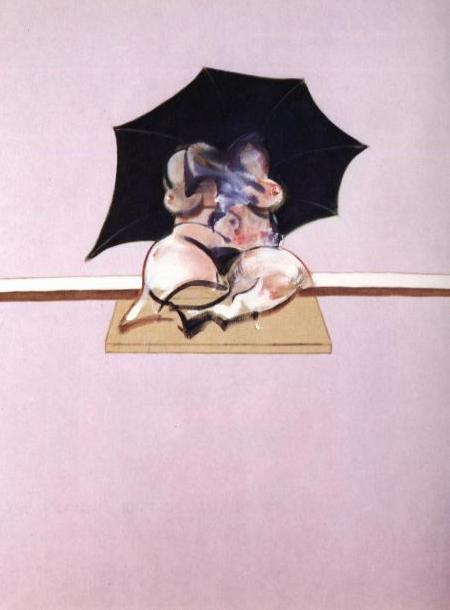 Фрэнсис Бэкон. Под черным зонтом