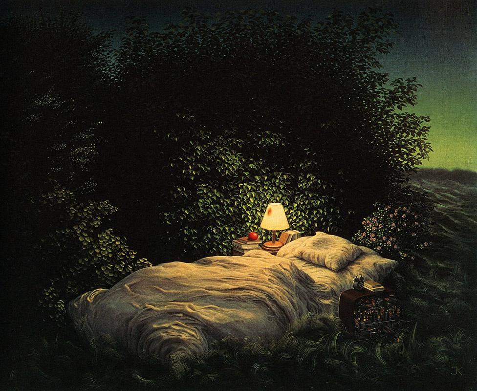 Jacek Yerka. Sleep