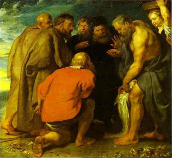 Питер Пауль Рубенс. Сбор подати святым Петром