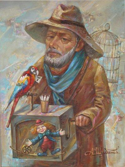Alexander Nikolaevich Shabanov. HAPPY TICKET ... HAPPY TICKETS Oil on canvas 40 * 30