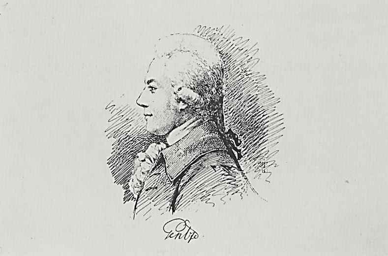 Адольф фон Менцель. Фридрих фон Генц