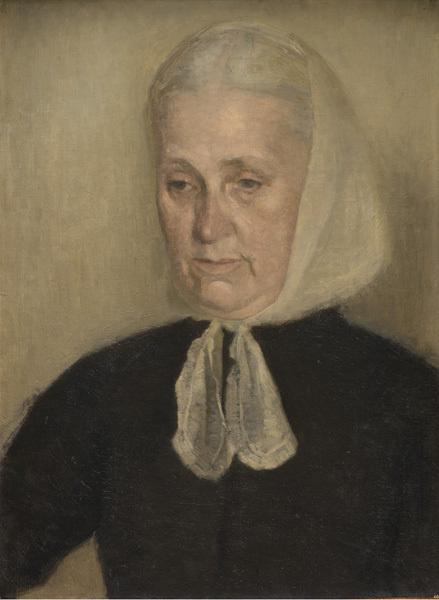 Вильгельм Хаммерсхёй. Фредерика Амалия Хаммерсхёй, мать художника