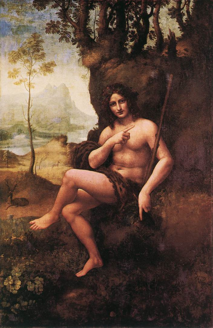 Леонардо да Винчи. Вакх