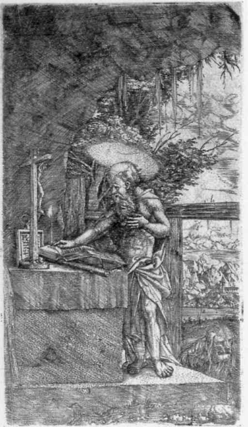 Альбрехт Альтдорфер. Святой Иероним за чтением