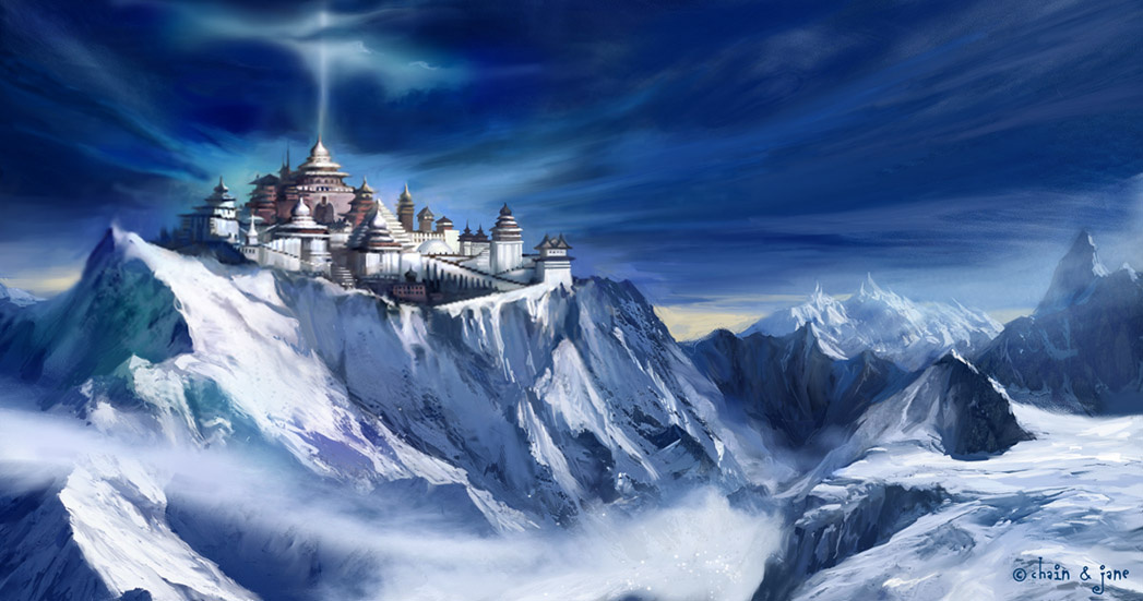 Джинсонг Чен. Храм