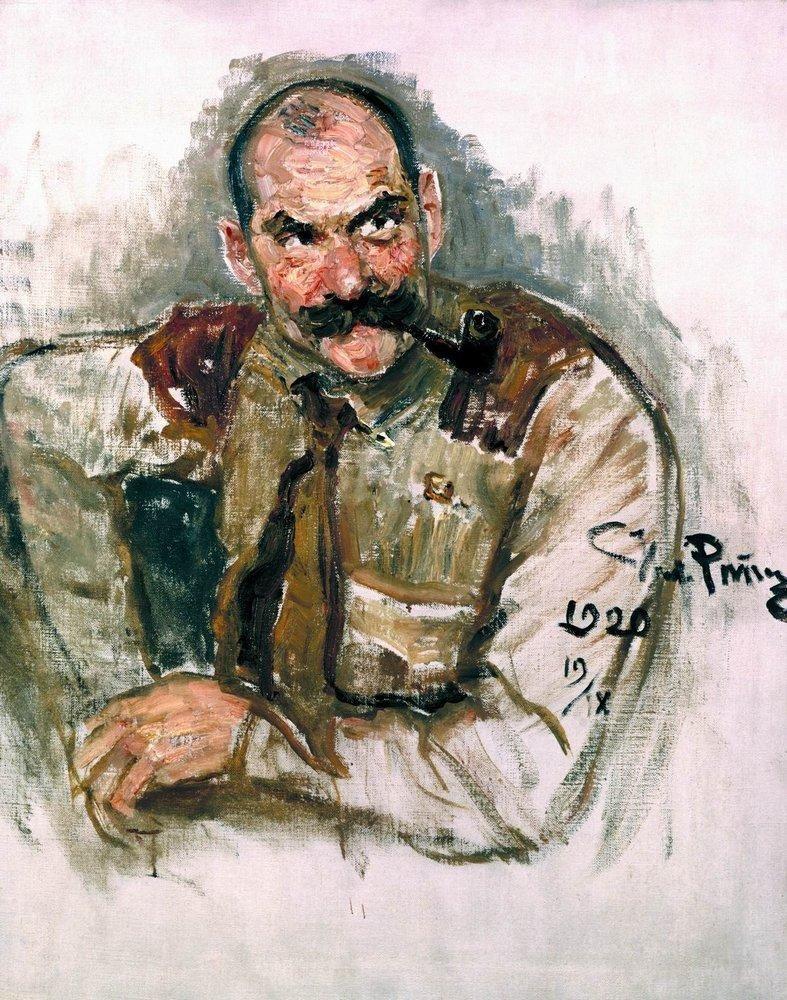 Илья Ефимович Репин. Портрет художника Галлен- Каллела