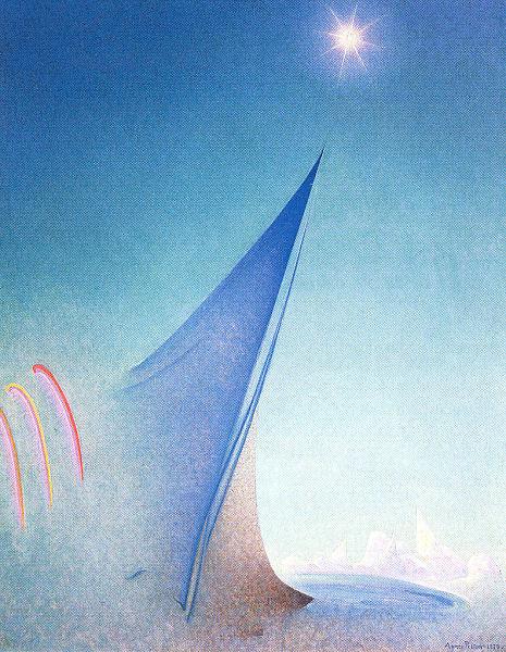 Agnes Pelton. Blue sky