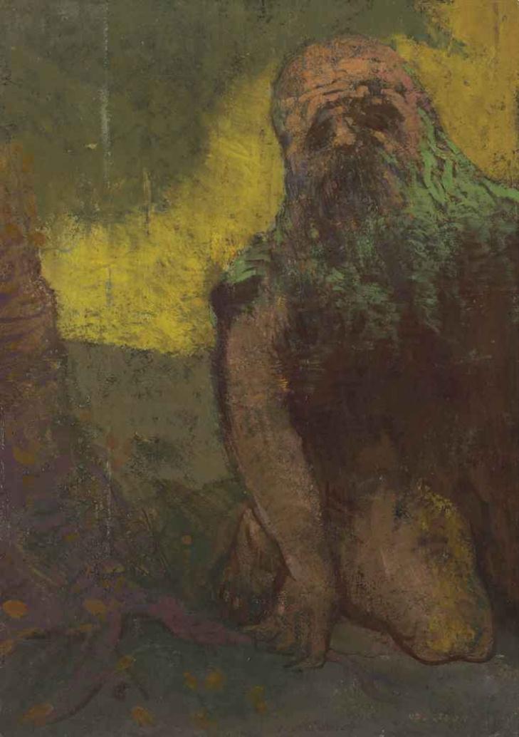 Odilon Redon. Hermit