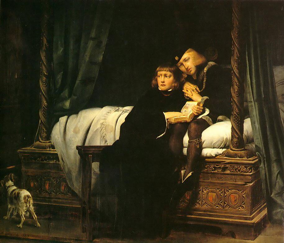 Paul Delaroche. King Edward V and Duke of York at the Tower