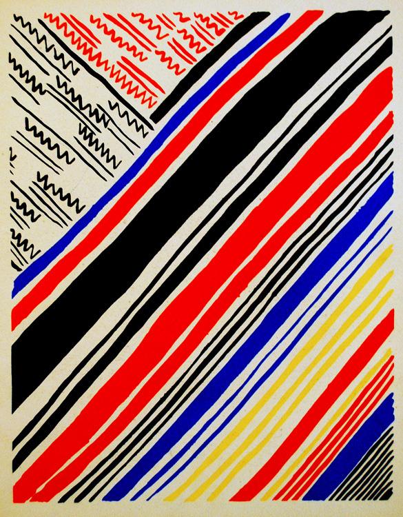 Sonia Delaunay. Composition 11