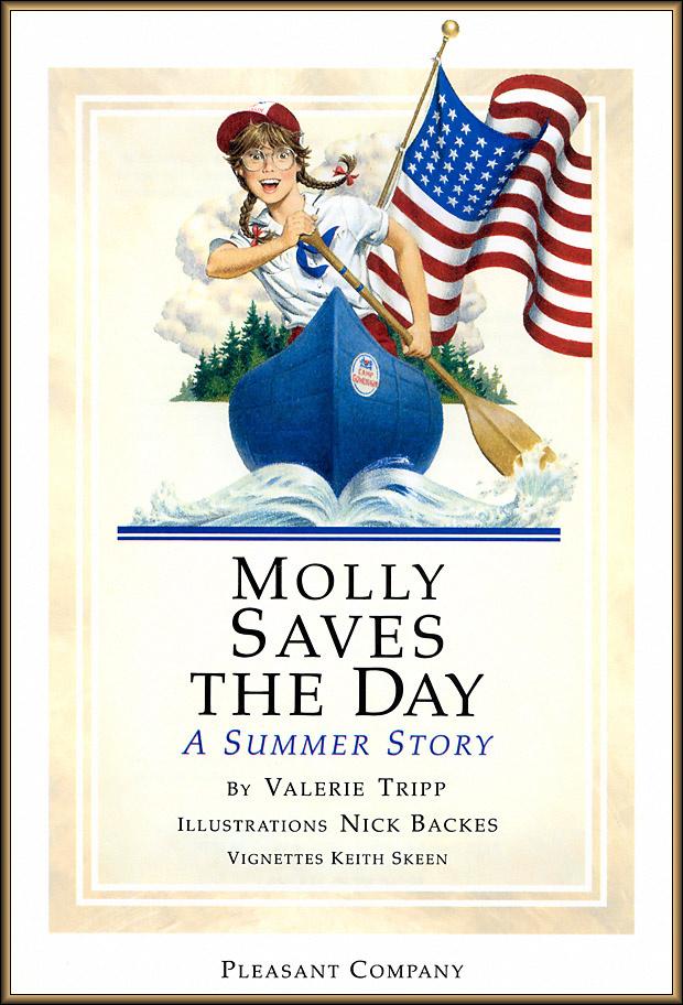 Ник Баскет. Американская девочка Молли. Пятая книга о Молли 02