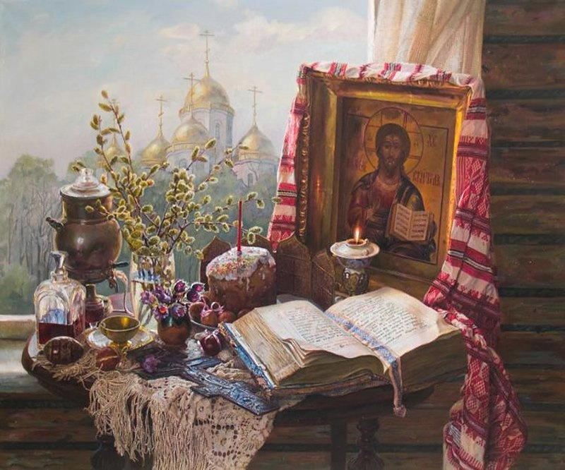 Edward Porfirievich Panov. The Resurrection Of Christ