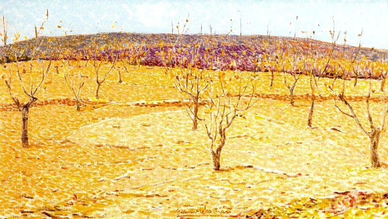 Франсиско Себастьян. Деревья