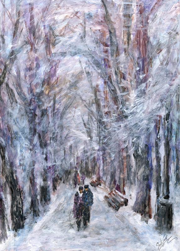 "Salijon Zukhriddinovich Mamatkulov. ""Winter Park"""
