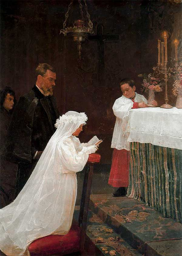 Pablo Picasso. First communion