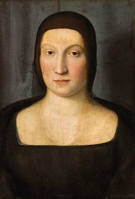 Raphael Sanzio. Portrait of a woman. Emilia Pia da Montefeltro