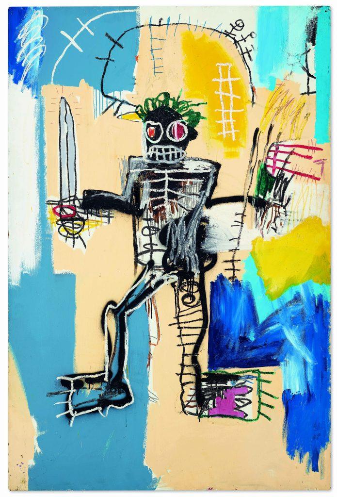 Jean-Michel Basquiat. Warrior