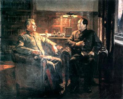 Сталина Портреты. Диалог