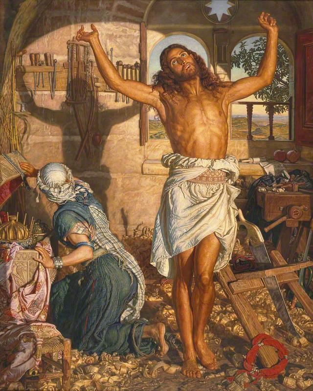 William Holman Hunt. The shadow of death II