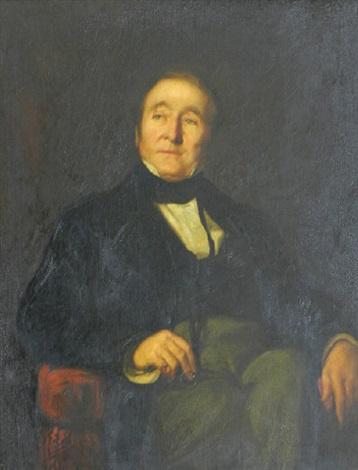 Frederic Leighton. Portrait of the architect Edward I'Anson,