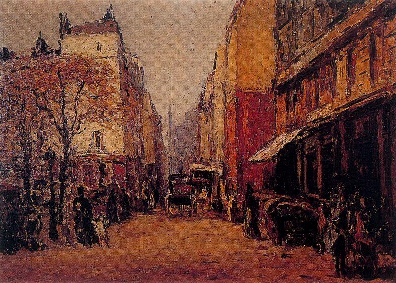 Артуро Соуто. Улица