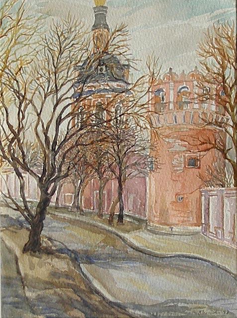 Olga Nikolaevna Chistova. Donskoy monastery