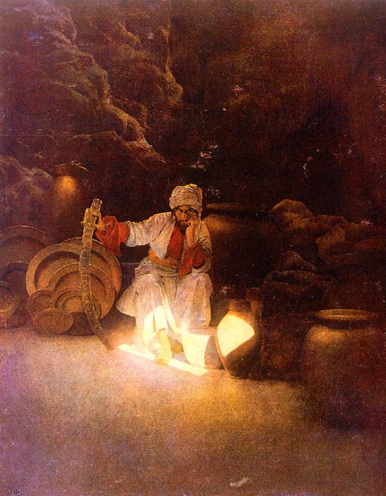 Максфилд Пэрриш. Али-Баба и сорок разбойников