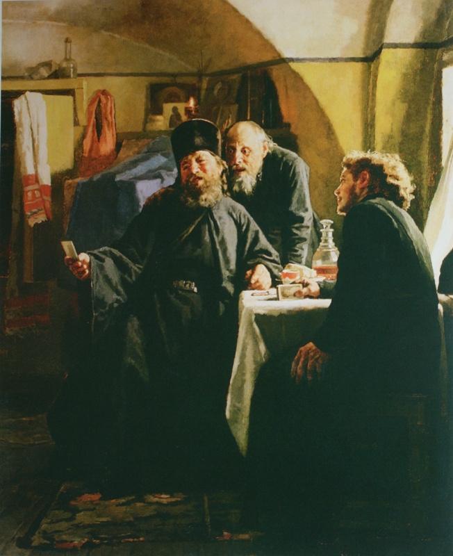 Николай Васильевич Неврев. Монахи. 1880