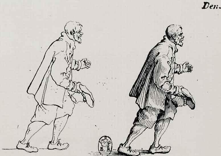 Жак Калло. Приветствующий крестьянин