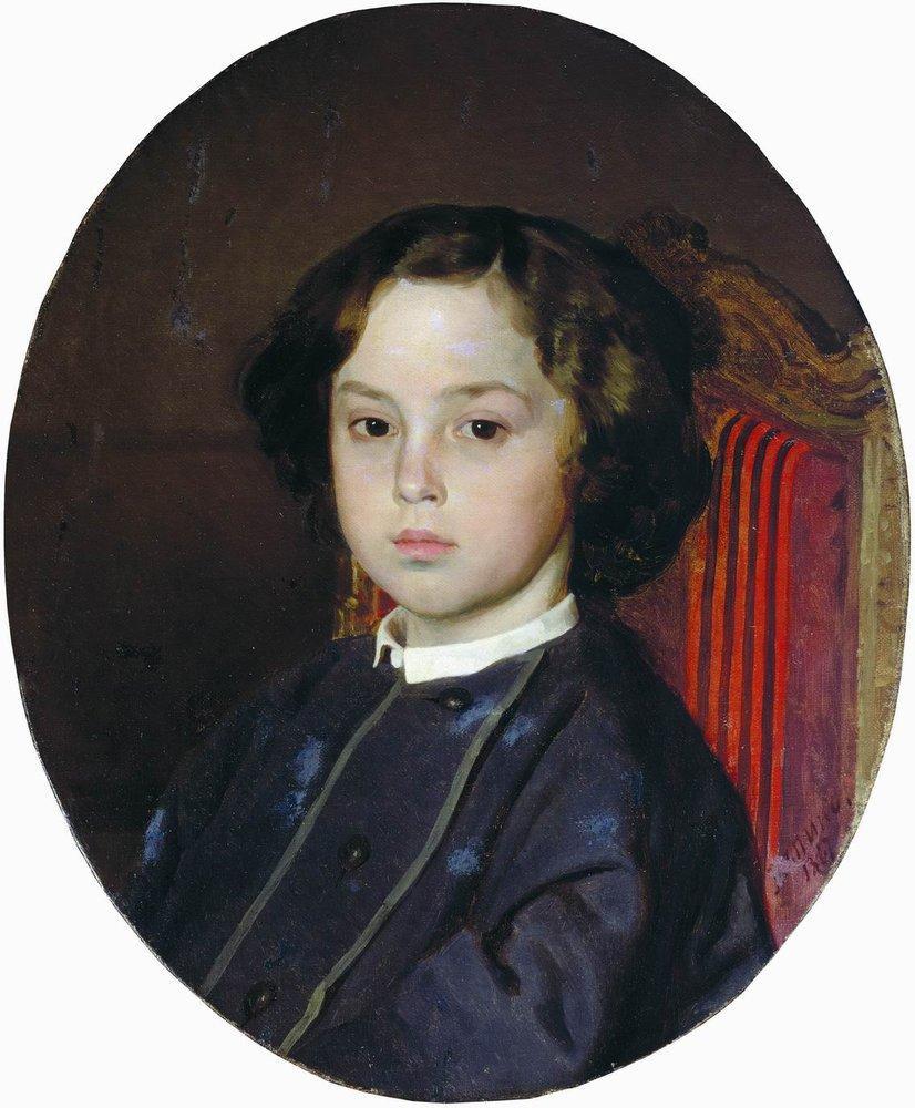 Илья Ефимович Репин. Портрет мальчика