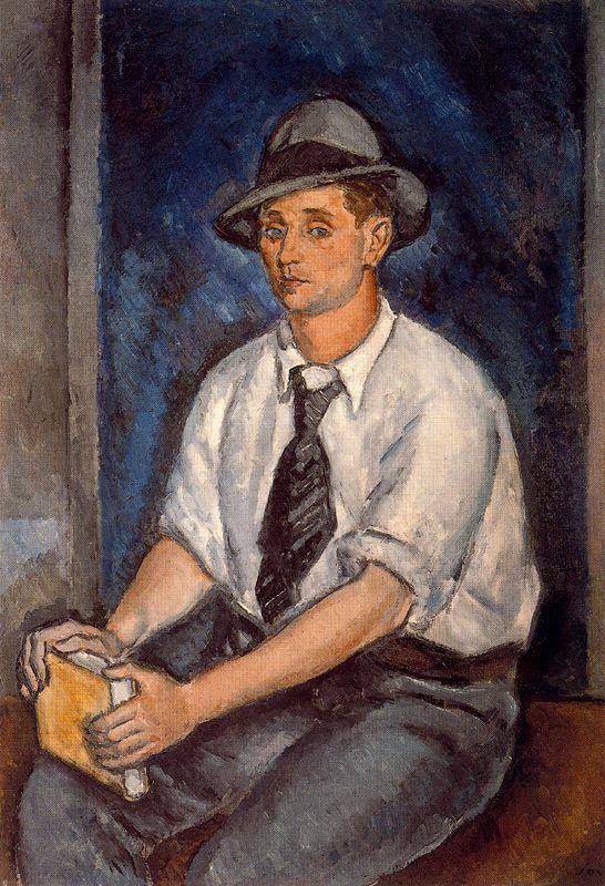Артуро Соуто. Мужчина в шляпе
