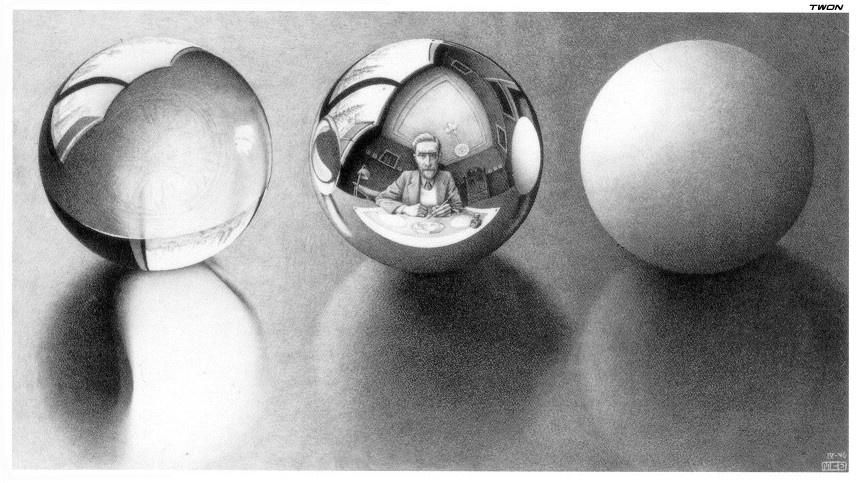 Мауриц Корнелис Эшер. Три сферы