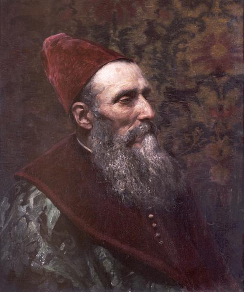 Василий Дмитриевич Поленов. Старец