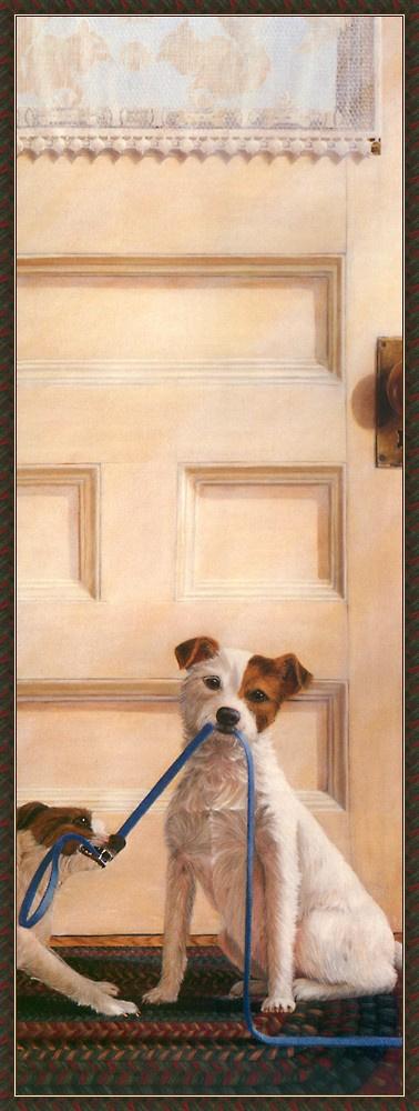 Лорена Пью. Собаки у двери