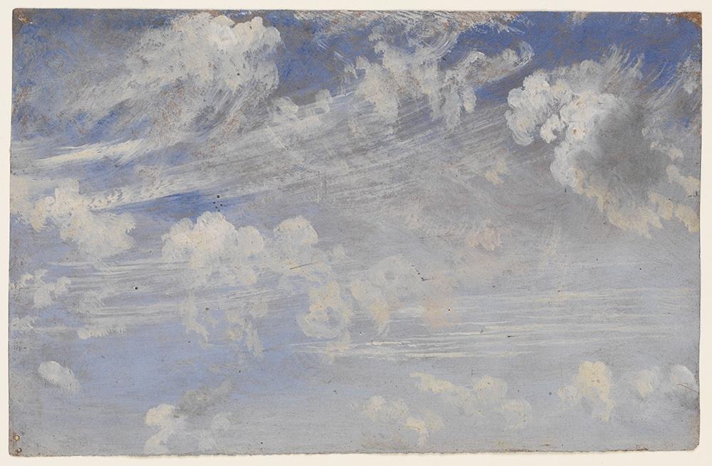 Джон Констебл. Эскиз перистых облаков