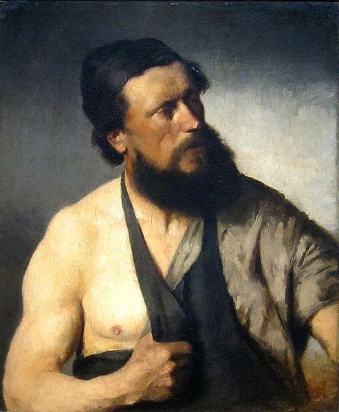 Михай Либ Мункачи. Деревенский кузнец