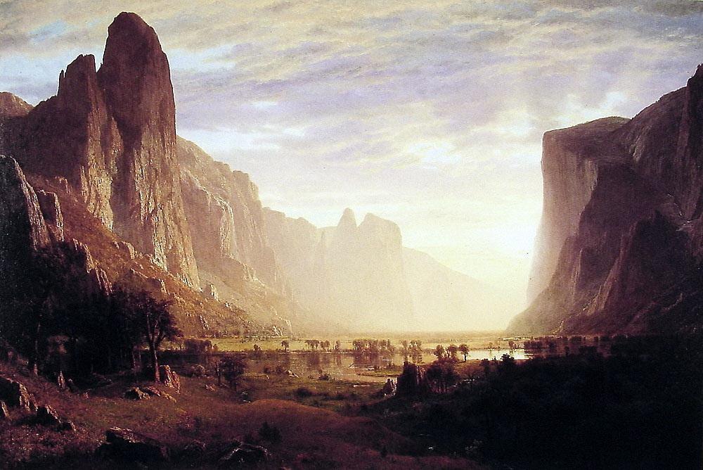 Альберт Бирштадт. Вид на долину Йосмит