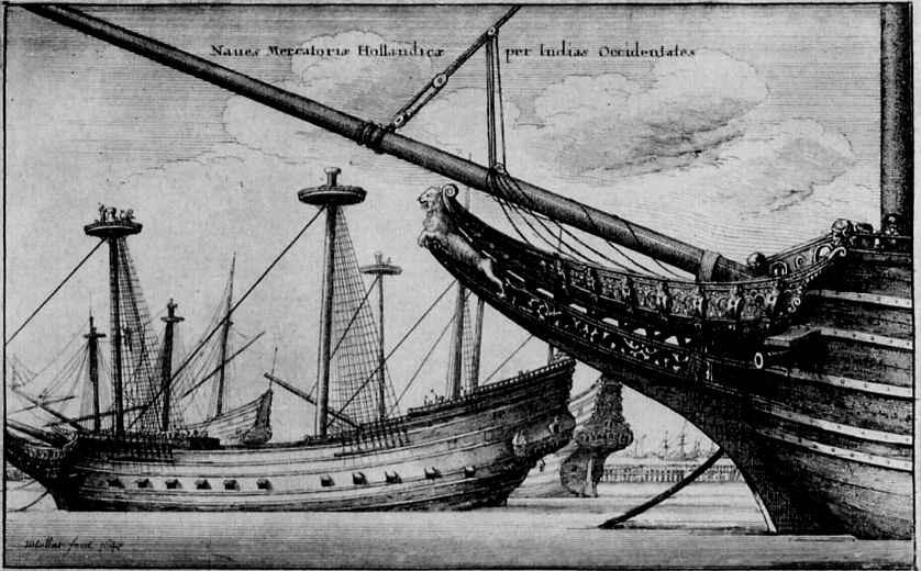 Венцель Холлар. Нос корабля