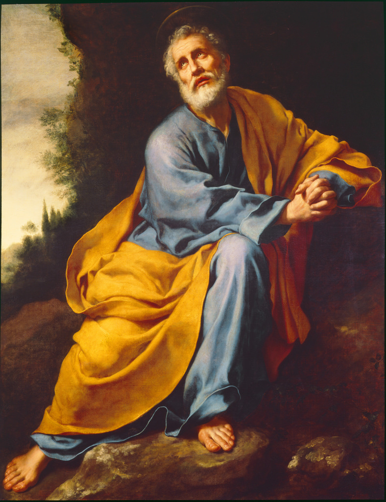 Carlo Dolci. Repentance of St. Peter