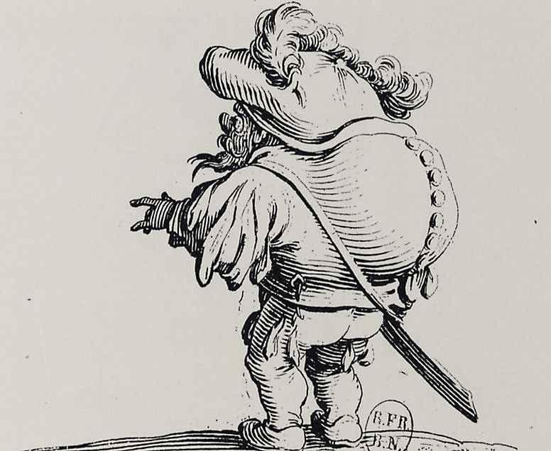 Жак Калло. Горбун с пуговицами на спине